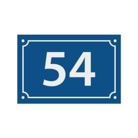 Numéros de maison acrylique