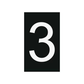 Plaque numéro 3