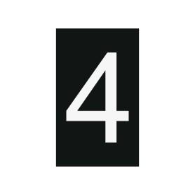 Plaque numéro 4
