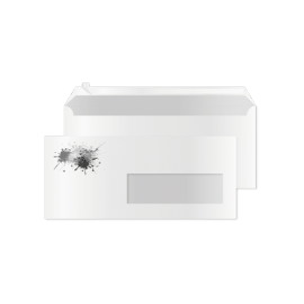 Enveloppes DL avec fenêtre par 100