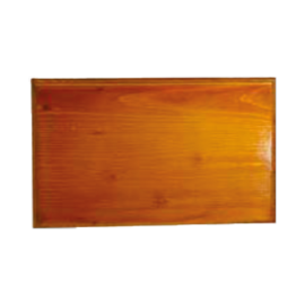 Socle bois clair pour plaque professionnelle 30 x 20 cm