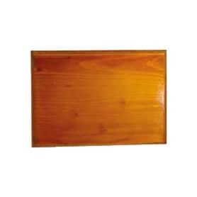 Socle bois clair 34x24 cm
