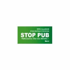 Stickers STOP PUB