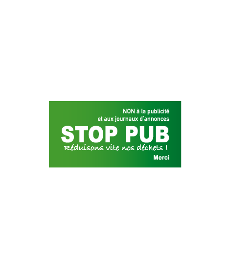 Stickers STOP PUB