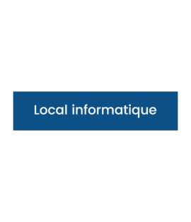 Signalétique Local informatique