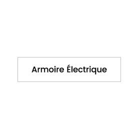 Plaque signalétique Armoire électrique