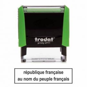 République française au nom du peuple français
