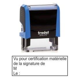 Vu pour certification matérielle
