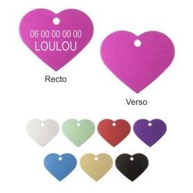 Médailles coeur petits