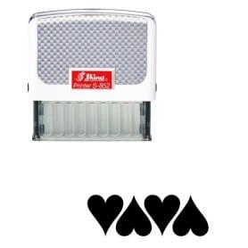 Tampon Shiny S-852 - cœur