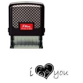 Tampon Shiny S-852 - I love you