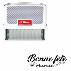 Tampon Shiny S-852 - Bonne Fête Mamie