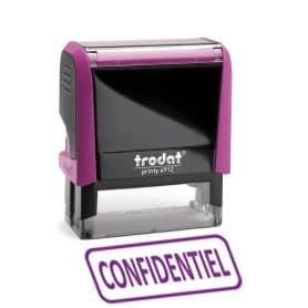 Trodat X-Print Confidentiel