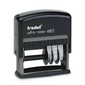 Trodat Printy Dateur 4813 - 26x9 mm / 1 à 2 lignes