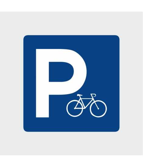Signalétique parking vélo