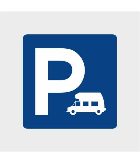 Signalétique parking Camping Car