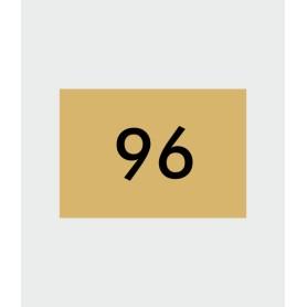 Numéros de maison aspect métal
